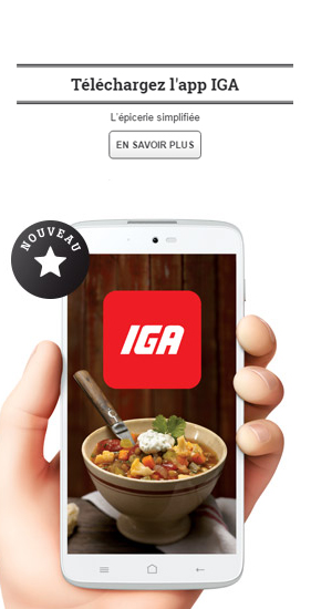 iga Châteauguay-app